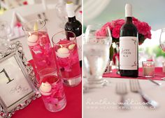 A shot of the centerpieces/table tops is key :) Gotta remember all that hard work!