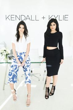 Kendall + Kylie's new fashion line is all you're going to want to wear next season.