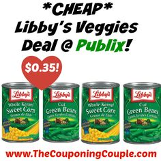 WOOHOO ~ STOCK UP! *CHEAP* Libbys Veggies Deal @ Publix!  Click the link below to get all of the details ► http://www.thecouponingcouple.com/cheap-libbys-veggies-deal-publix/ #Coupons #Couponing #CouponCommunity  Visit us at http://www.thecouponingcouple.com for more great posts!
