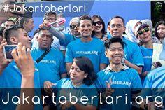 Keceriaan Warga Jakarta dalam tiap acara #JakartaBerlari