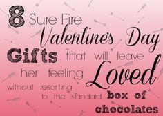 8 Sure Fire Valentin
