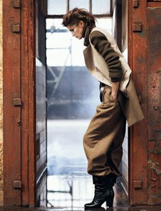 Kendra Spears Dons Military Style for Vogue Spain October 2012 by Lachlan Bailey