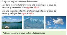 LOS ESTADOS DEL AGUA                             ACTIVIDAD 1               ... Desktop Screenshot, Blog, Lakes, Interactive Activities, Naturaleza, Second Best, Index Cards, Art, Blogging