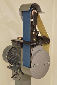 Select-A-Rad 483 Tube Notcher / Belt Grinder Belt Grinder Plans, Bench Grinder, Homemade Tools, Diy Tools, Wood Facade, Metal Working Tools, Lathe Tools, Iron Art, Garage Workshop