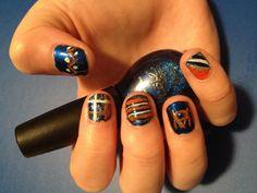 Auburn nails :))