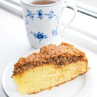 Drømmekage fra Brovst. Den bedste opskrift på drømmekage med billeder. Klassisk drømmekage opskrift med kokostopping. Supergod drømme kage!!