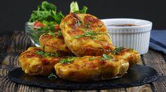 Herzhaft gefüllte Ofenkartoffeln bestechen mit doppeltem Käseeinsatz. - YouTube