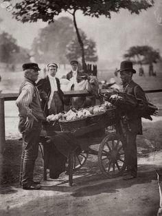 Ginger-Beer sellers, London 1877