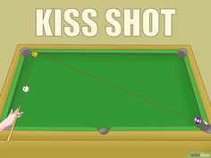 How to Play Pool Like a Mathematician. Billiard balls collide with nearly perfect elasticity. This means that the kinetic energy in their motion is almost completely preserved, and very little of it dissipates into heat or other energy. Geometry Problems, Play Pool, Kinetic Energy, Pool Games, Billiards Pool, Pool Table, Game Room, Things That Bounce, Supreme