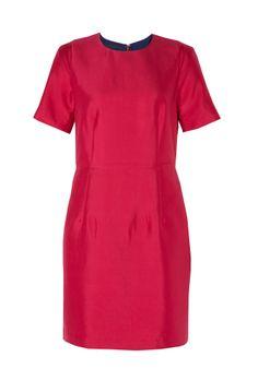 Bruuns Bazaar | Amalie Zip Back Tailored Dress | 58% silk, 42% cotton. lining: 100% viscose | £96 (was £192)