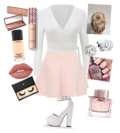 Untitled #1 by kikizebra on Polyvore featuring polyvore, fashion, style, RED Valentino, Lash Star Beauty, Urban Decay, MAC Cosmetics, Lime Crime, Burberry and clothing