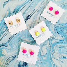 Pretty stud earrings!