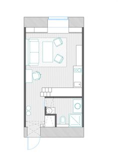 1000 Images About Bedsit One Bdrm Units Plan And Design