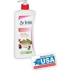 St. Ives Intensive Healing Body Lotion, 21 oz A Paula's Choice best product, Safety level 2 by EWG