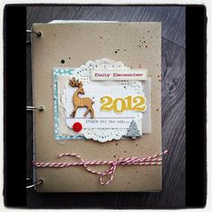 Planners - Vintage Rose - lots of ideas on her Daily December Board