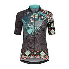 Canary Hill Aloha fietsshirt voor dames - Canary Hill Funky Design, Aloha Shirt, Wetsuit, Glamour, Womens Fashion, Swimwear, Shirts, Scuba Wetsuit, Bathing Suits