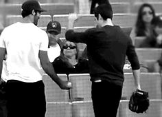 just a quick reminder that tyler hoechlin and dylan o'brien have a special handshake gif