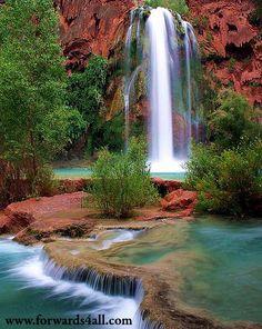 Havasu Falls, Arizona I need to visit this if we move