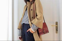 stripes. lovely coat.