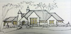 Beautiful Architecture, Architecture Design, Disney Artwork, Arts And Crafts Movement, Inspired Homes, Cottage Style, Home Interior Design, New Homes, Exterior