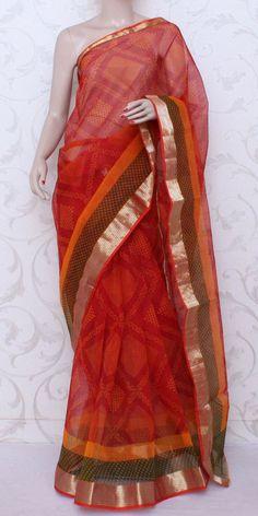 Printed JP Kota Saree (Cotton-Zari Border) 12580 Cotton Sarees Online, Buy Sarees Online, Ethnic Sarees, Indian Sarees, Indian Look, Indian Wear, Saree Jewellery, Kota Sarees, Saree Shopping