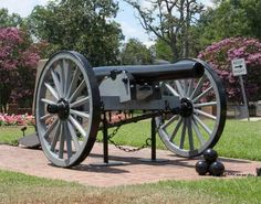 Abbeville Civil War Cannon