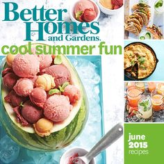 It's time to fire up the grill! We're sharing our favorite warm-weather recipes and pitcher cocktails for a crowd. Plus, we've got creative watermelon recipes, microwave snack mixes, and recipes for dinner tonight. The party-