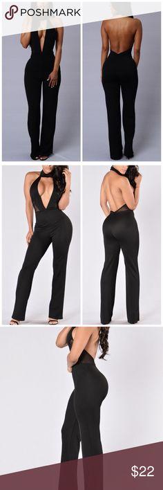7c0133fb34705 NWOT Fashion Nova Jumpsuit Size XS Brand New without tags. Fashion Nova  jumpsuit in black