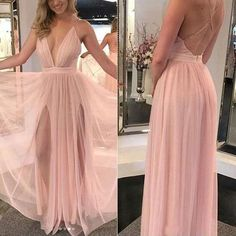 Sexy Simple Long Prom Dress, Fashion Pageant Dress, School Party Dress · SuperbDress · Online Store Powered by Storenvy Pink Prom Dresses, Pageant Dresses, Homecoming Dresses, Pretty Dresses, Sexy Dresses, Beautiful Dresses, Evening Dresses, Fashion Dresses, Bridesmaid Dresses