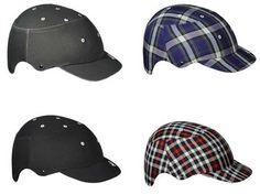 MIejski kask od firmy Lazer stylizowany na czapkę :)