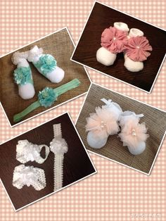 Handmade babies/toddlers barefoot sandals from Lilly Dilly's - when little feet are too small for shoes or shoes are not needed! #baby #feet #sandals #handmade #wedding #bridesmaid #flowergirl #overseas #destination #accessories