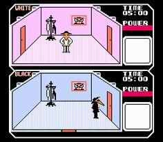 Spy vs. Spy was a game first published by First Star Software in 1984 for the Atari 8-bit family, Commodore 64 and Apple II computers.