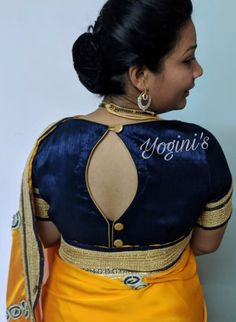 Traditional Blouse Designs, Simple Blouse Designs, Brocade Blouse Designs, Saree Blouse Neck Designs, Indian Designer Wear, Designer Gowns, Blouse Models, Work Blouse, Blouse Styles