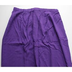 NEW High Waisted Royal Purple Maxi Skirt New, never worn maxi skirt from New Look. Beautiful royal purple colour. Delicate, non stretch material. High waist fit, with zip at back. Airy and comfortable (I own this in 6 colours!). Size 2, fits 2/4. Selling this in orange as well. New Look Skirts Maxi