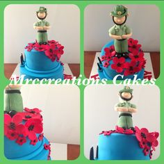 Anzac Day cake