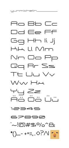 """내 @Behance 프로젝트 살펴보기: """"typeface design"""" https://www.behance.net/gallery/45903071/typeface-design"""