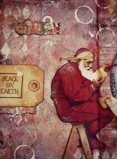 Christmas Art Journal 2014