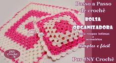 PAP Bolsa organizadora de crochê https://www.youtube.com/watch?v=NDYETFL8fFk