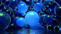 neon blue balloons - Google Search