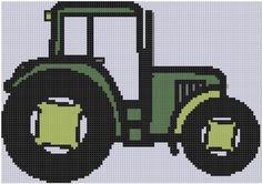 Tractor 4 Cross Stitch Pattern