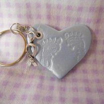 Check out these pretty little clay hearts that can add a splash of color to your drab keys ;) Or maybe you have a special keychain for the gym, office or shed you need something for :)   The photo will be the one you receive. Check other listing for more options ;)