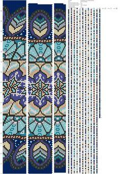 23 around bead crochet rope pattern Crochet Bracelet Pattern, Crochet Beaded Bracelets, Bead Crochet Patterns, Bead Crochet Rope, Bead Loom Bracelets, Beaded Bracelet Patterns, Peyote Patterns, Beading Patterns, Beaded Crochet