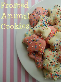 My Favorite Things: Frosted Animal Cookies