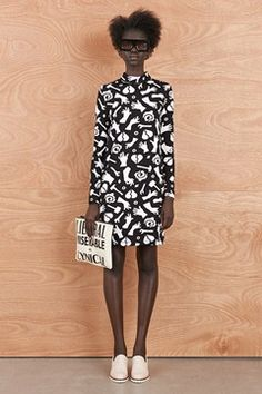 YES - Lobbie Skivvy Dress - Karen Walker