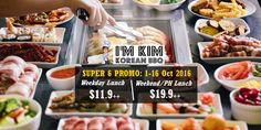 I'm KIM Korean BBQ Singapore Facebook Like & Share Contest ends 16 Oct 2016