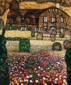House by the Attersea Gustav Klimt