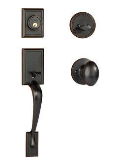 Dynasty Hardware RID-ASP-100-12P Ridgecrest Front Door Handleset, Aged Oil Rubbed Bronze with Aspen Knob Dynasty Hardware http://www.amazon.com/dp/B00I45HEOS/ref=cm_sw_r_pi_dp_rLj.wb1SVWTQ4