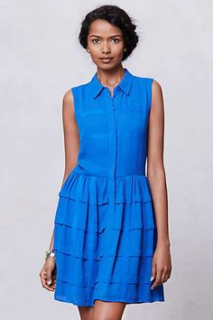 4ee4ac29ac5 Anthropologie - Tiered Habitual Shirtdress Anna Dress