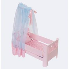 Superb Baby Annabell Sweet Dreams Bed Now at Smyths Toys UK. Shop for Baby Annabell At Great Prices. Sweet Dreams Beds, Tulle Canopy, Baby Annabell, Zapf Creation, Baby Alive Dolls, Web Design Company, Soft Pillows, Doll Furniture, Bassinet