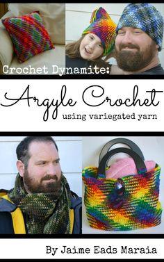Argyle Crochet.  So much easier than it looks.